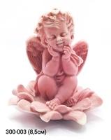 Мраморная крошка Ангелочек в цветке Подсолнух