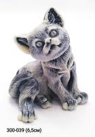 Мраморная крошка Котенок сидящий