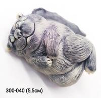 Мраморная крошка Кот Чеширский на подушке