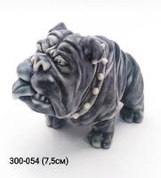 Мраморная крошка Собака Бульдог шарж
