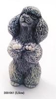 Мраморная крошка Собака Пудель мал