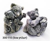Мраморная крошка Медвежата Полено уп 2шт