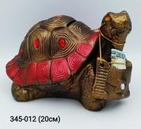 Копилка Черепаха бронза