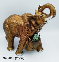 Копилка Слон резной бол