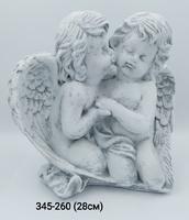 Ангел Пара Крыло камень сер