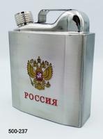 Фляга 18oz Канистра Герб России YH-18