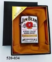 Заж в кор Lighter Турбо Jim B цвет сер зол а22044