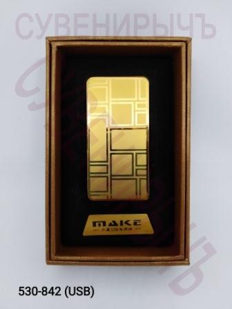 Заж в кор электронная USB МАКЕ зол S251