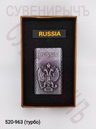 Заж в кор Russia турбо Герб A21303