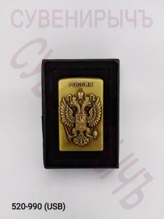 Заж в кор электронная USB Герб России JZCD-2