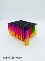 Заж газ Oney цветной металлик турбо уп50 TM-01