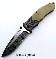 Нож скл металл черный сер вставка F93