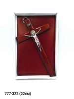 Крест деревянный 22см 46-588
