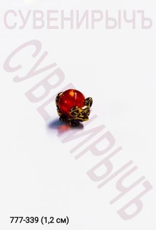 Кош.оберег Мышка с Янтарным шаром 1339722